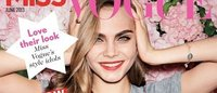 Miss Vogue debuta con Cara Delevigne en portada