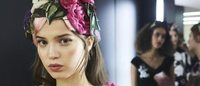Get the Dolce & Gabbana fairytale princess catwalk makeup look