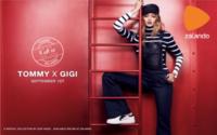 Gigi Hadid se estrena como diseñadora para Tommy Hilfiger