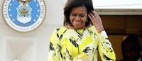 ミシェル米大統領夫人が初来日に選んだファッションは「ケンゾー」と「ジミー チュウ」