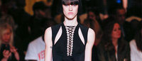 PFW: Givenchy bambolina fetish in bianco e nero
