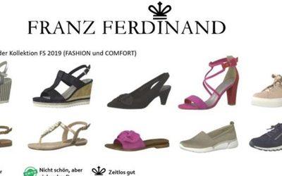 5a33a877e6f193 Schuhe24 lanciert mit Franz Ferdinand erstmals eine Eigenmarke - News    Vertrieb ( 1007640)