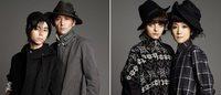 村上淳と虹郎・花代と点子が親子共演 ヨウジヤマモト「Ground Y」のヴィジュアルに