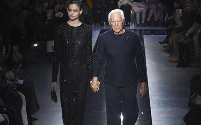 3d68416bb3fdb Dolce   Gabbana celebra il ritorno all eleganza - Notizie   Sfilate ...