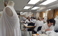 Behind the scenes at Christian Dior's Haute Couture atelier