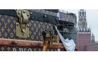 Louis Vuitton starts packing its giant trunk off Red Square