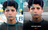 Cristiano Ronaldo wears Adidas in Nike ad