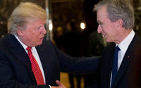 Bernard Arnault et Jack Ma promettent à Donald Trump d'investir davantage aux Etats-Unis
