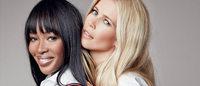 Клаудия Шиффер и Наоми Кемпбэлл снялись в рекламе Tommy Hilfiger