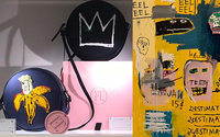 Olympia Le-Tan launches Jean-Michel Basquiat-inspired handbag line
