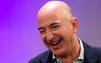 Le PDG d'Amazon, Jeff Bezos, nouvel homme le plus riche du monde durant quelques heures