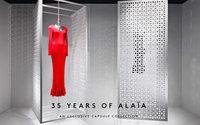 Azzedine Alaïa et Barneys célèbrent 35 ans de fidélité