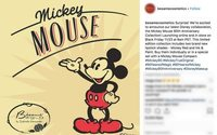 Mickey Mouse gets the Bésame Cosmetics treatment for 90th birthday