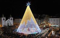 Iluminação de Natal nas Caldas da Rainha gera retorno de 190 mil euros