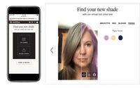 Aveda rolls out virtual hair color testing, with Perfect Corp