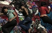 Spinning on empty stomachs in India's textile hub