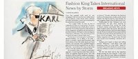 Karl Lagerfeld verlegt The Karl Daily