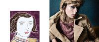 「バーバリー」最新広告はポートレート×イラストの組み合わせ エディ・キャンベルら起用