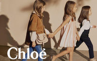 Chloé fêtes tenth anniversary of children's line with mini classics capsule collection