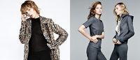 Zara exibe linha feminina com elementos masculinos