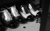 Caroline de Maigret tests out Chanel's new Derby shoe