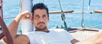 David Gandy launches new beachwear collection with M&S