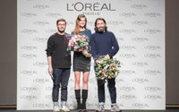 Juanjo Oliva y Lucía López, ganadores de los premios L'Oréal en MBFW Madrid