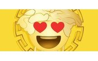 Versace launches emoji app for Valentine's Day