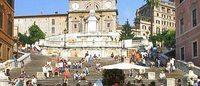 Bulgari restaura la scalinata di Trinità dei Monti a Roma