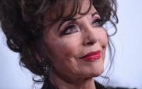 Joan Collins dazzles in Valentino's Christmas campaign
