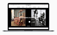 Givenchy startet seine E-Commerce-Plattform für neue Europäische Märkte