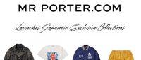 メンズEC「MR PORTER」、日本の5ブランドとカプセルコレクションを発表