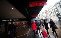 Sports Direct fait l'acquisition des grands magasins House of Fraser