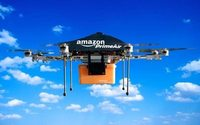 Amazon invests in drone delivery