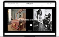 Givenchy lleva a España su plataforma de comercio electrónico