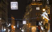 Le Faubourg Saint-Honoré s'illumine aux couleurs de Noël