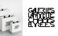 Les Galeries Lafayette s'offrent une nouvelle identité visuelle sur les Champs-Elysées