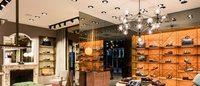 В Париже открылся перый бутик Santoni