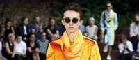 Paris Fashion Week: Issey Miyake plays with nature, vivid colors and overlays