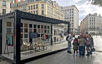Kiabi installe des containers en centre-ville