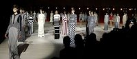 Marc Jacobs goes big on stripes at NY fashion week