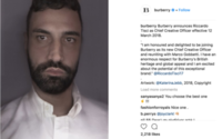 Riccardo Tisci is new Burberry creative chief, shares rise