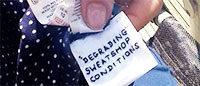 """Primark: les étiquettes SOS """"sont un canular"""""""