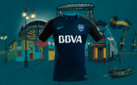 Nike desvela la nueva indumentaria de Boca Juniors