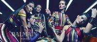 Campanha Balmain traz modelos em cenários surreais
