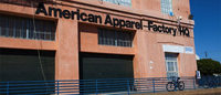 American Apparel's union workers protest bankruptcy