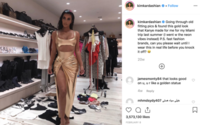 Missguided USA loses lawsuit to Kim Kardashian over copycat designs