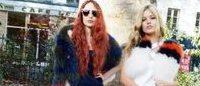 Les soeurs Lizzy et Georgia Jagger, visages de la campagne Sonia Rykiel printemps-été 2015