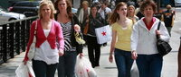 US retailers say business picked up later in February