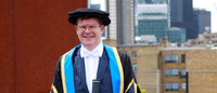 Jaeger CEO Henry honoured by Glasgow Caledonian University